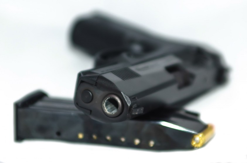 Best Home Defense Gun: 9mm Semi-Automatic Pistol and Magazine