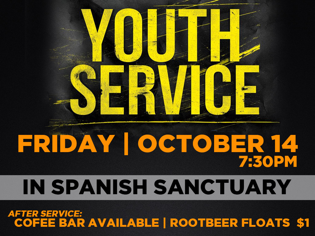 October 14 | Youth Service