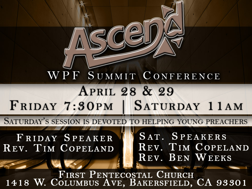 April 28-29 | Ascend WPF Conference