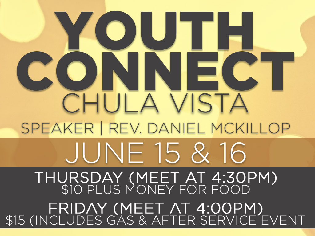 June 15 & 16 | Youth Connect