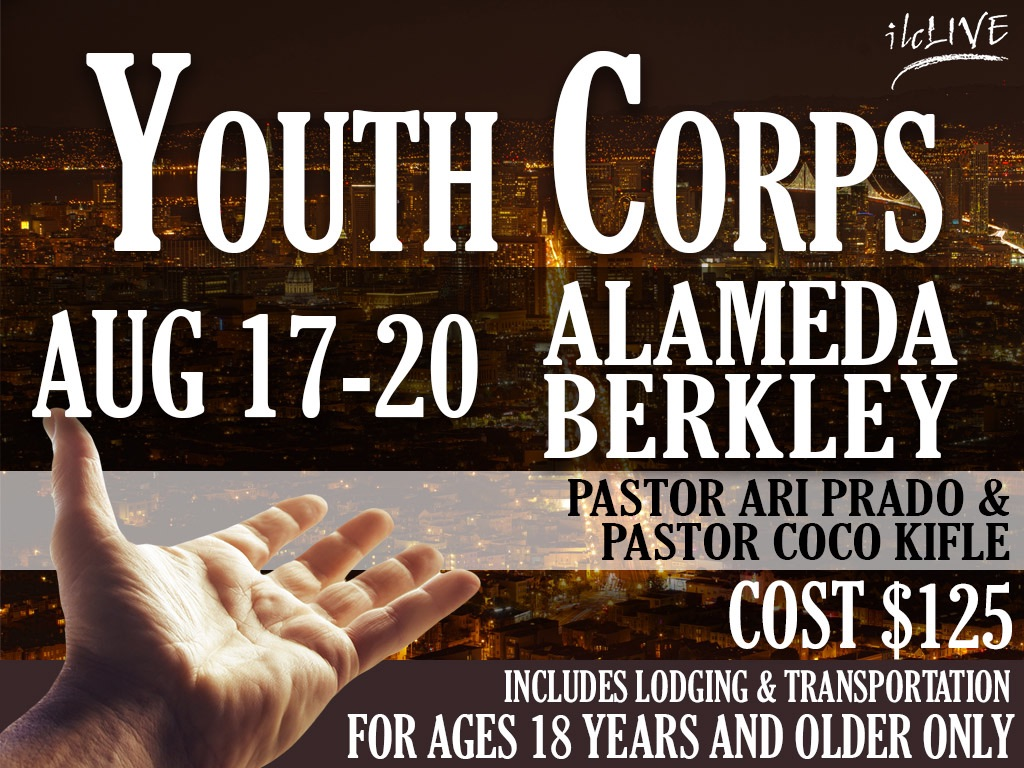 August 17-20 | Youth Corps