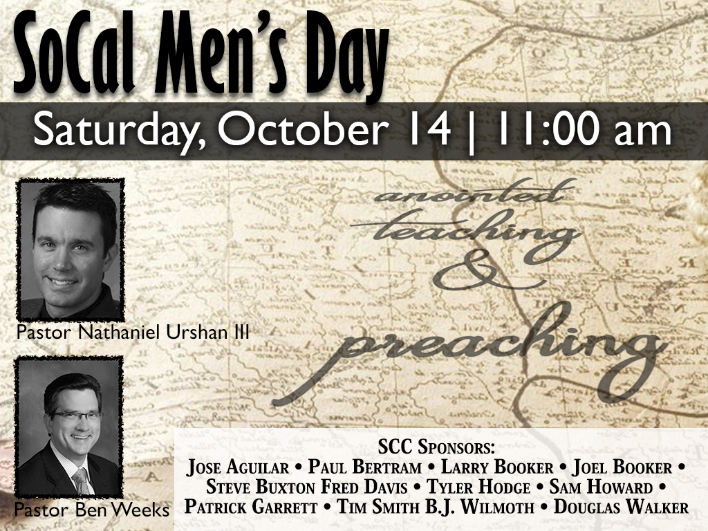 October 14, 2017 | So Cal Men's Day