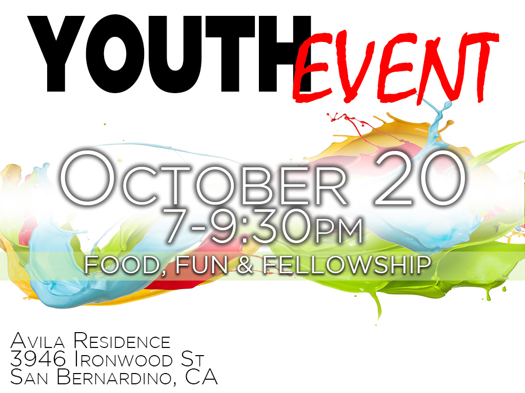 Youth Event | October 20, 2017