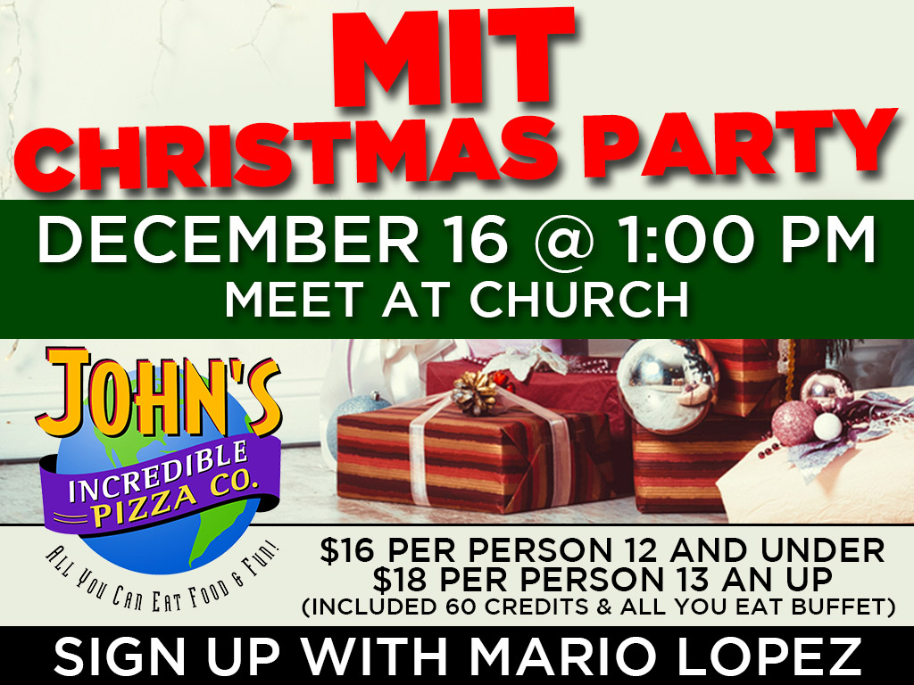 December 16 | MIT Christmas Party