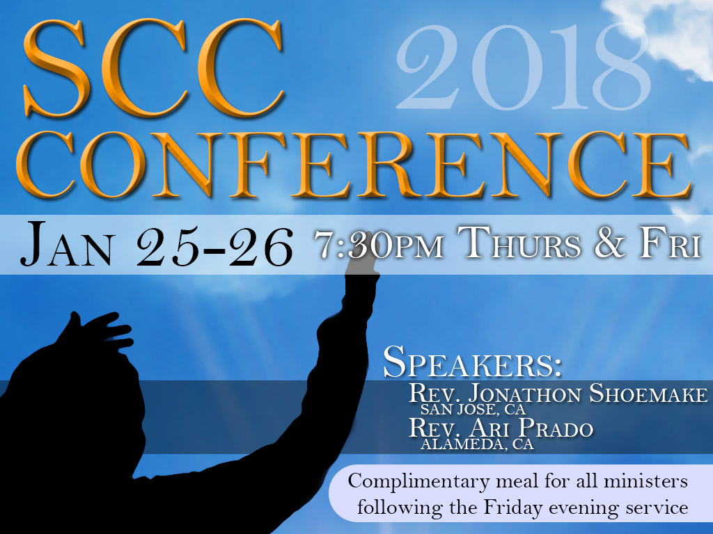 January 25-16, 2018 | SCC Conference