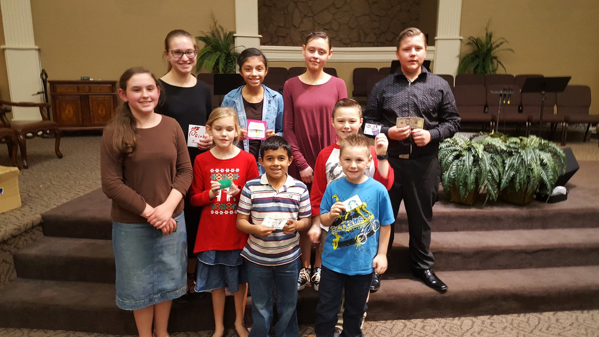 Bible Quizzing Mini Tournament | December 2, 2017