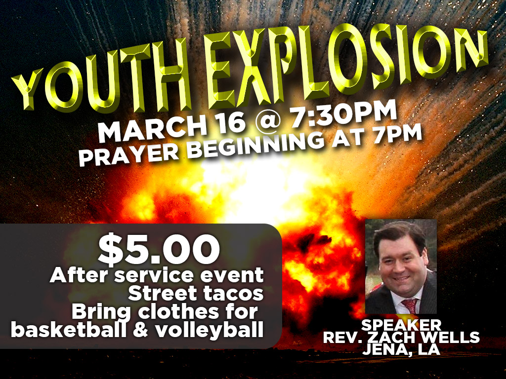 March 16, 2017 | Youth Explosion