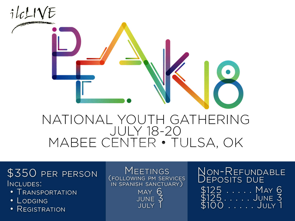 Youth PEAK Trip – July 18-20, 2018