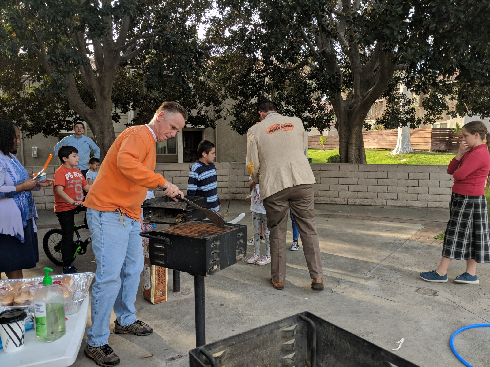 Sunday School BBQ Outreach | Feb 2, 2018