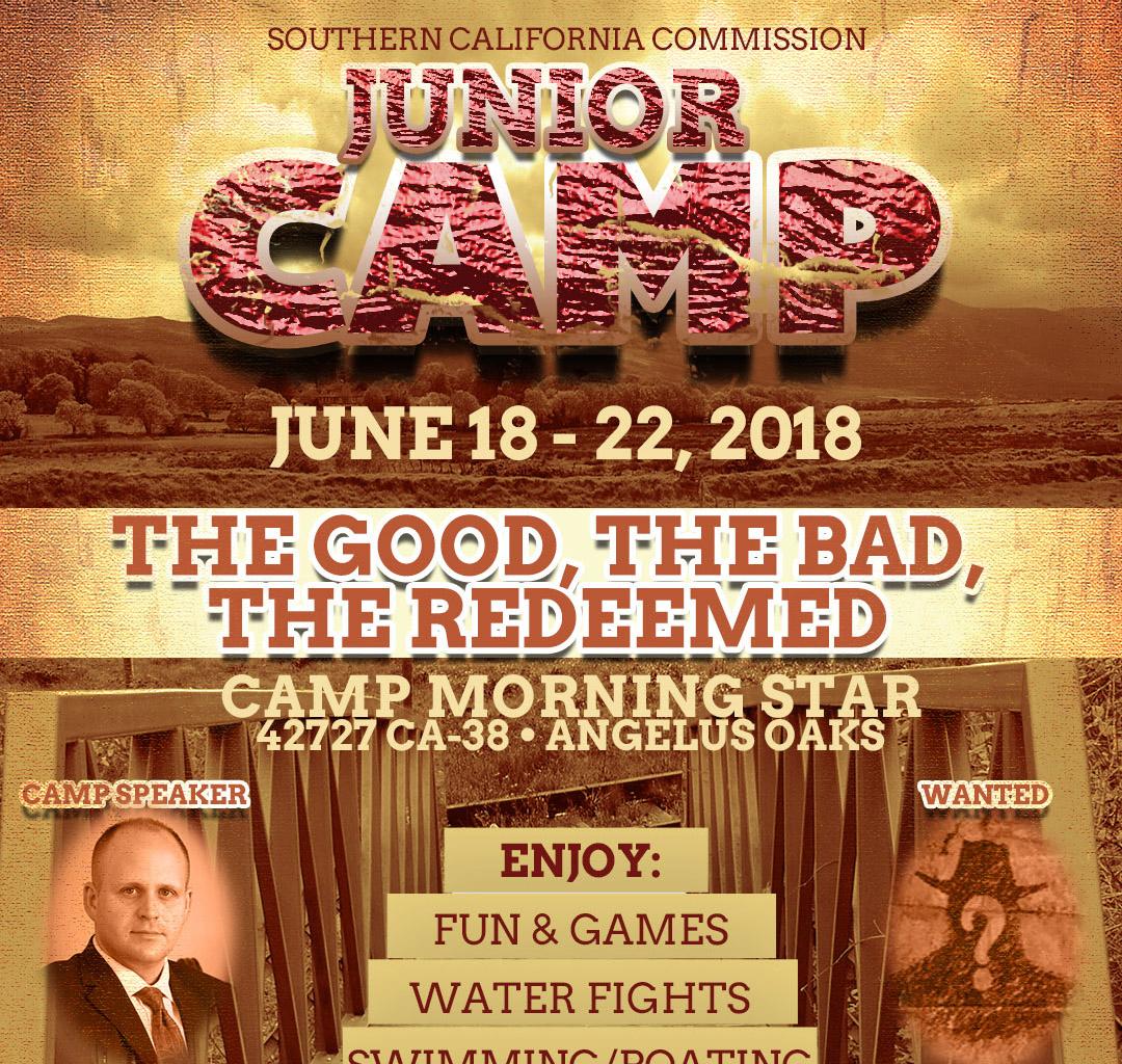 SCC Junior Camp | June 18, 2018