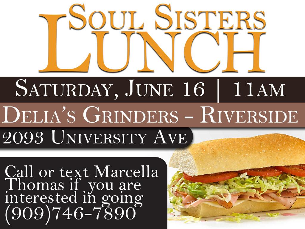 Soul Sister's Lunch | June 16, 2018