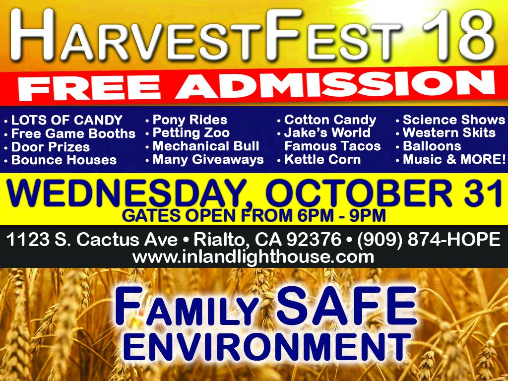 HarvestFest | October 31, 2018