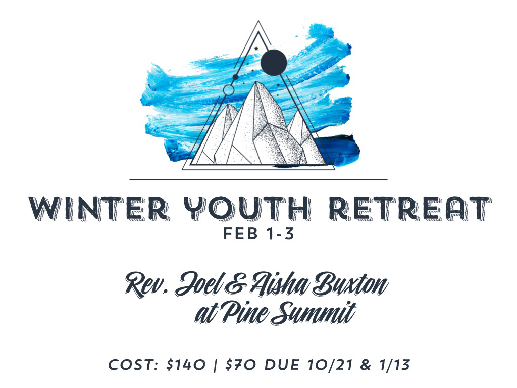 Winter Youth Retreat | February 1-3, 2019