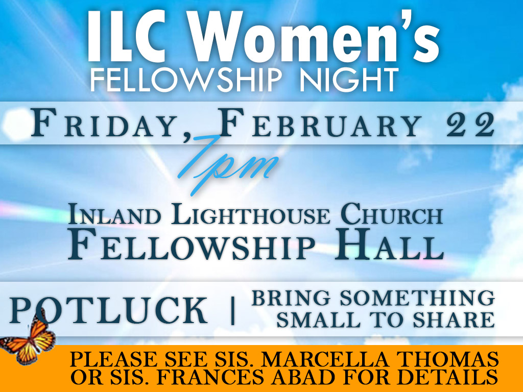 Ladies Fellowship | February 22, 2019