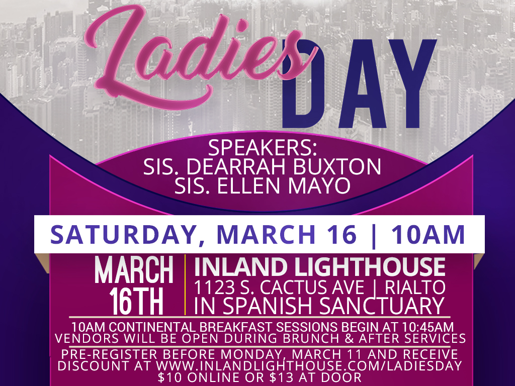 Ladies Day | March 16, 2019
