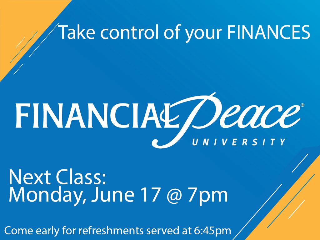 Financial Classes | Next Class June 17, 2019