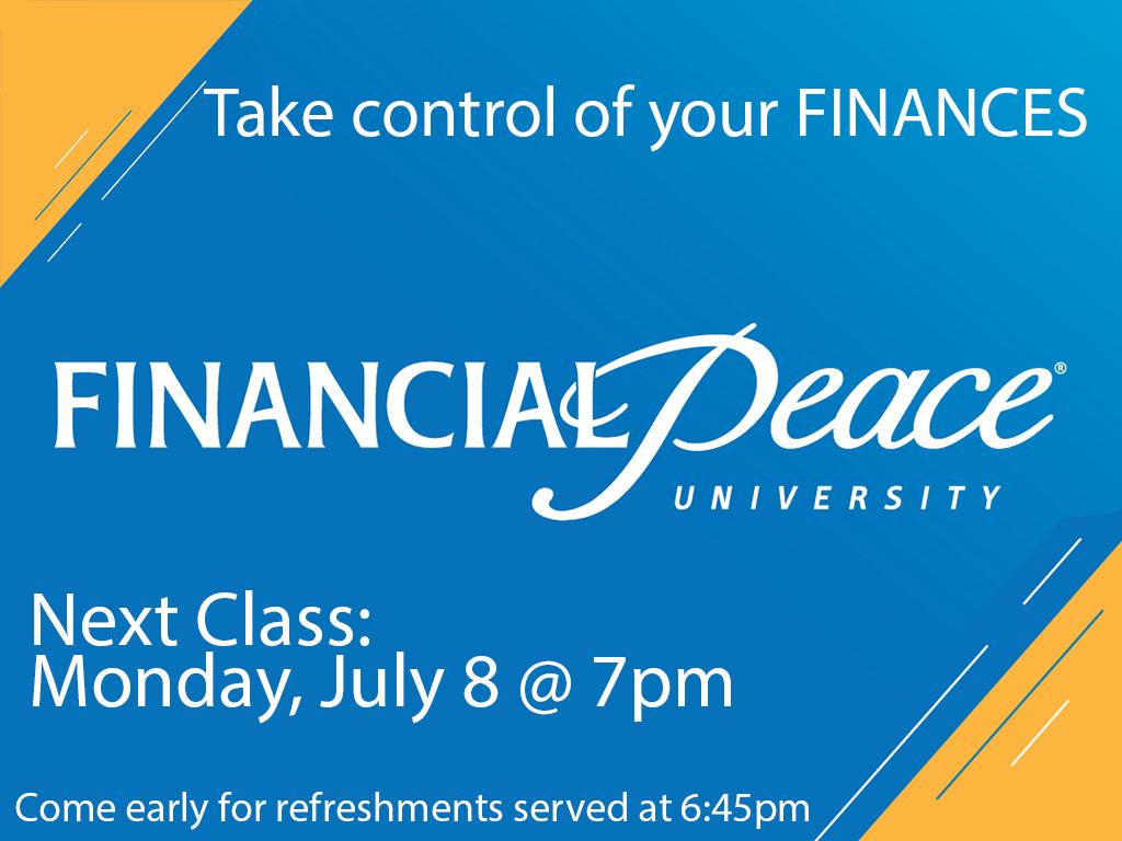 Financial Class | Next is July 8, 2019