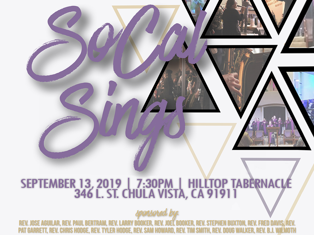 SCC So Cal Sings | September 13, 2019