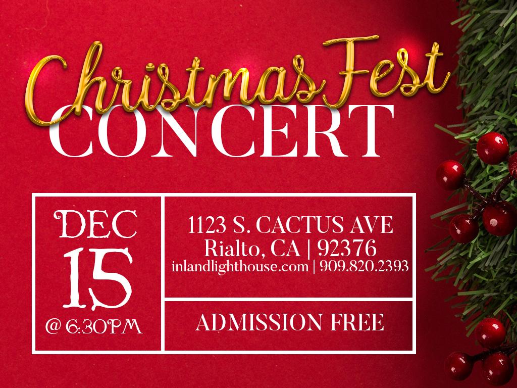 Christmas Concert   December 15, 2019