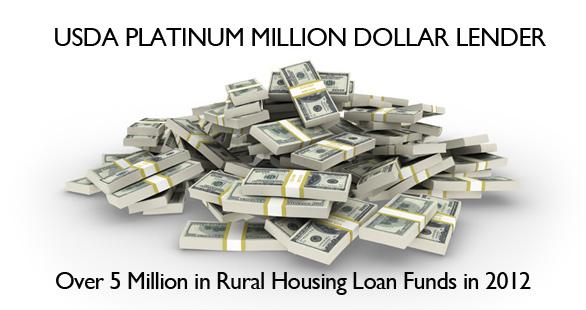 Rural housing lender platinum award