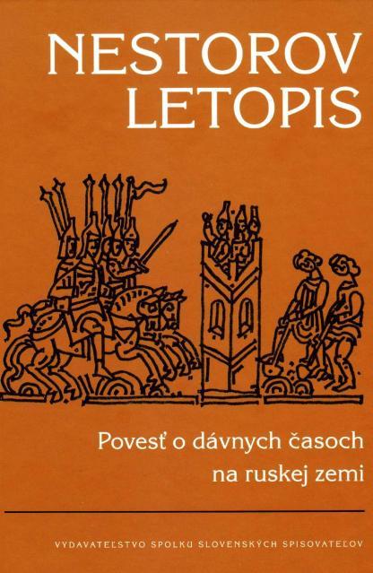 Obálka knihy Nestorov letopis - INLIBRI
