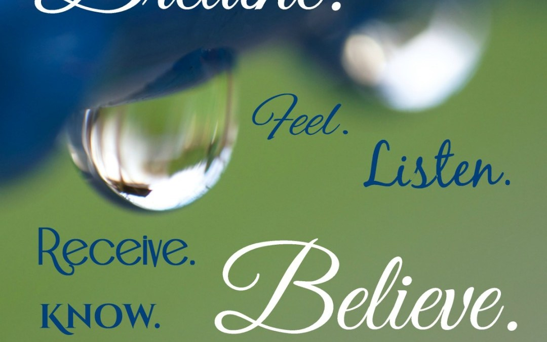 Breathe. Believe.