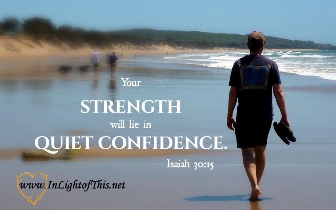 The Confident Prayer. The Confident Pray-er.