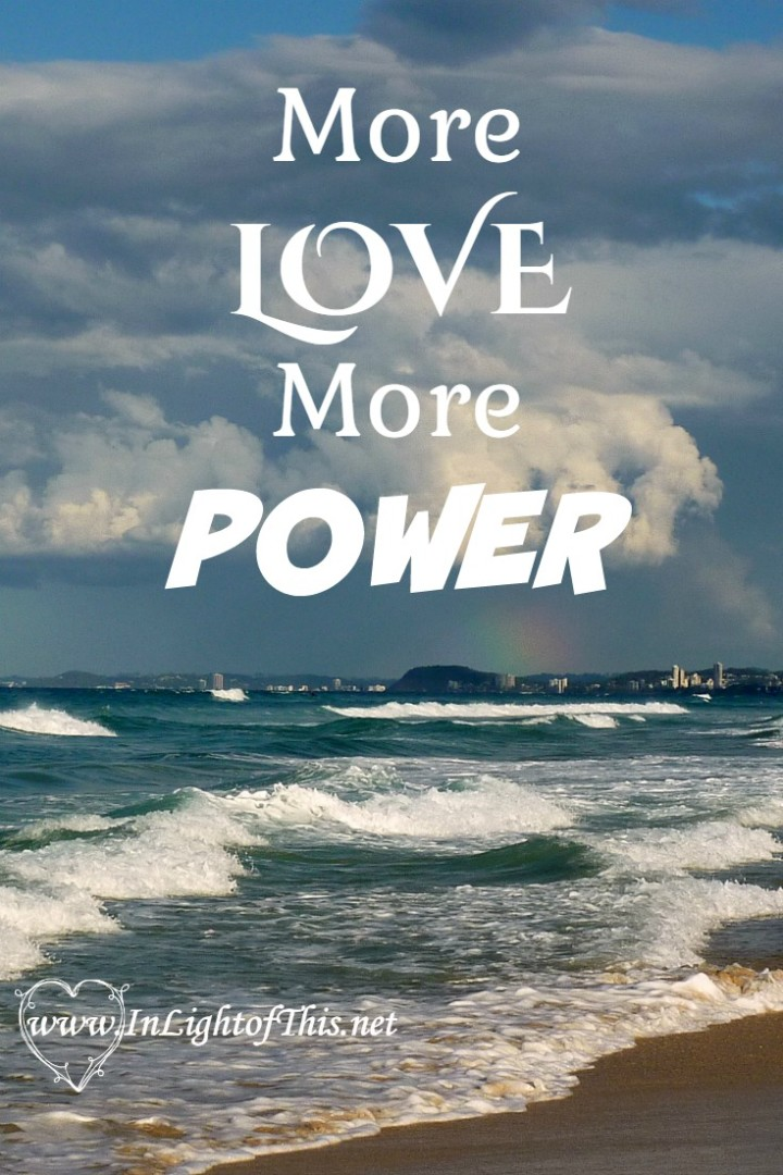 More Love More Power Pin