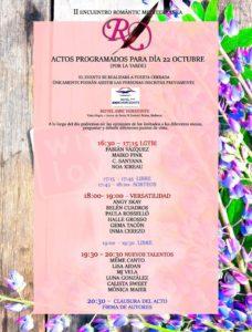 Programa Encuentro Romàntic Mediterránea II