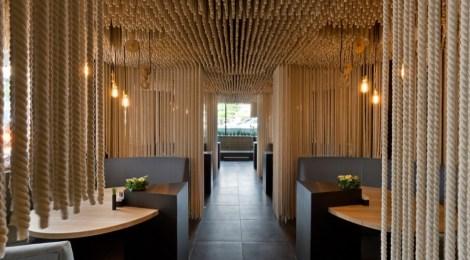 "Design with rope: YOD Design Lab Restaurant ""Odessa"""