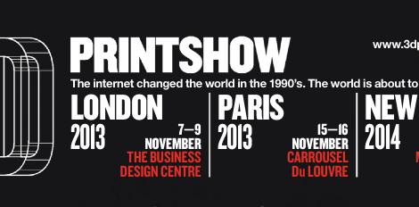 3D Print show! London-Paris-New York