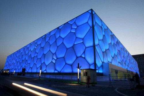 Water Cube by PTW Architects. Image by portalplanetasdna.ar
