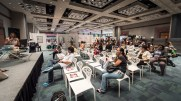 Technology talks are also part of BOOM Fair. Photo by Rashid Molinary