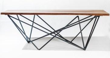 Tri-Ele Center Table. Photo by Silvia Priscilla