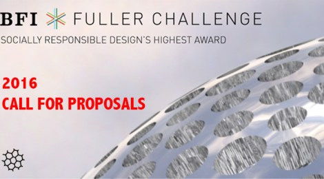 Call for proposals: The 2016 Fuller Challenge is now open with a student category