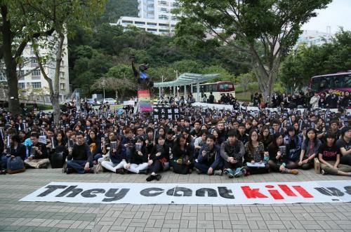 香港獨立媒體 | 中大師生站出來。對暴行說不。捍衛新聞自由 | 中國數字時代