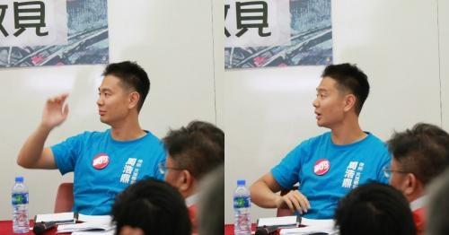 超區論壇周浩鼎「彈弓手」 反對全民退保遭圍攻
