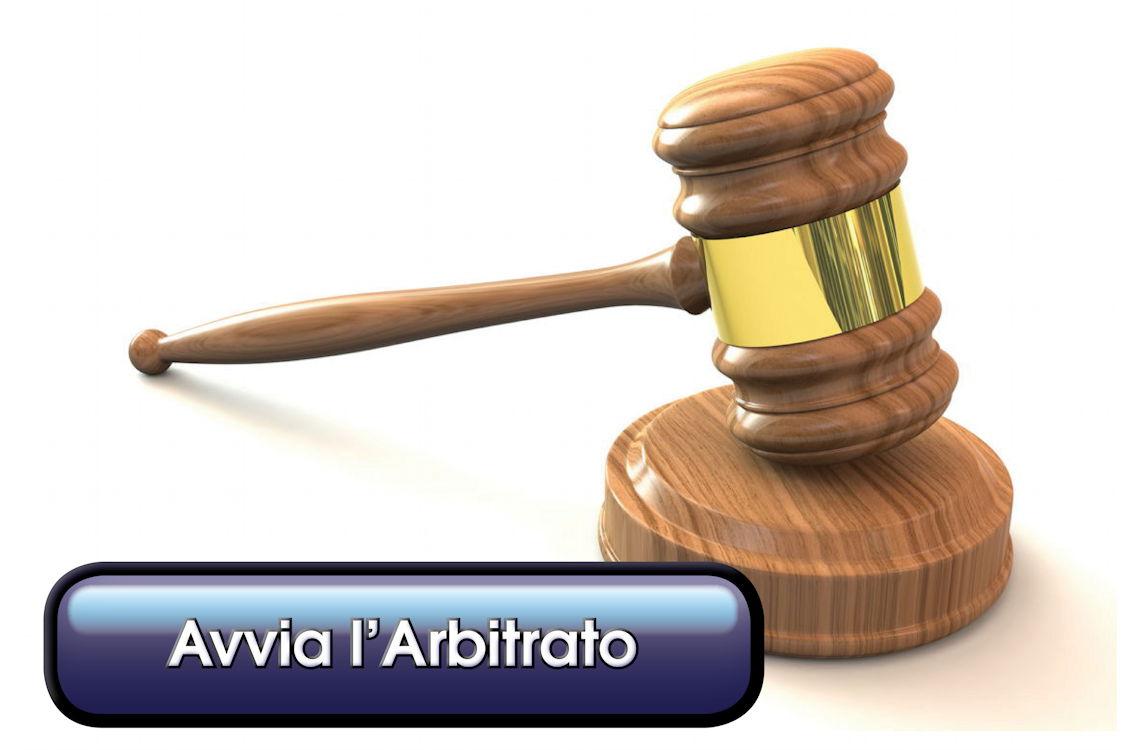 Avvia l'arbitrato avvia_arbitrato Arbitrato