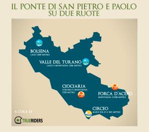 Infografica Ponte San Pietro e Paolo