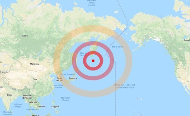 Fortissima Scossa Di Terremoto Nel Pacifico Trema La Russia