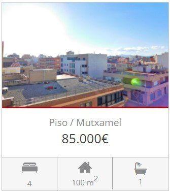 Inmobiliaria Alicante piso en venta en muchamiel alicante
