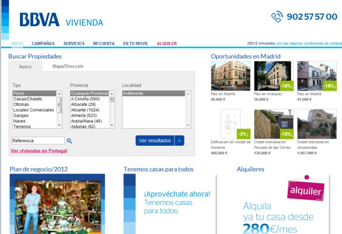 Proyecto bbvavivienda marketing inmobiliario y tecnolog a for Oferta inmobiliaria bbva