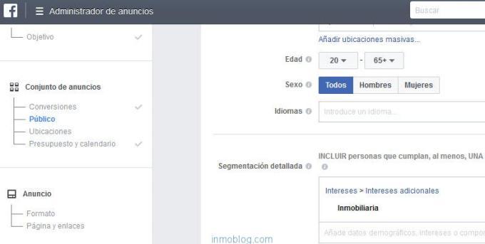 pixel facebook web inmobiliaria
