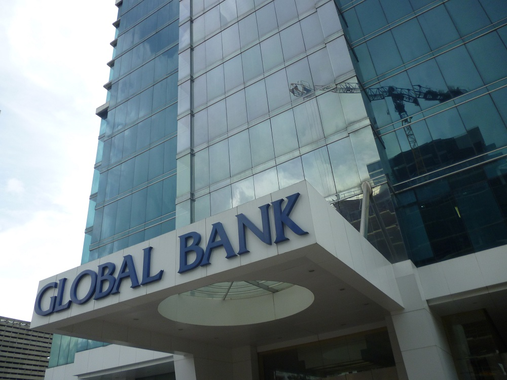 Global bank  calle 50  oficinas  InmoPanama