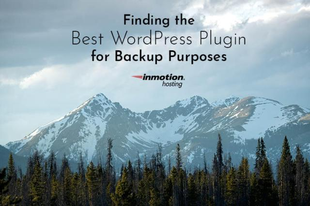 Finding the Best WordPress Plugin for Backup Purposes | The