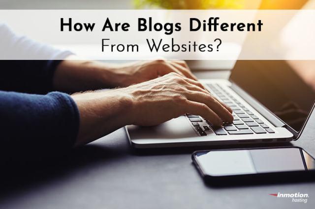 Easy Website Builder   Blogs Vs. Websites