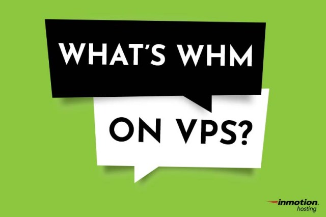 What is WHM on VPS?
