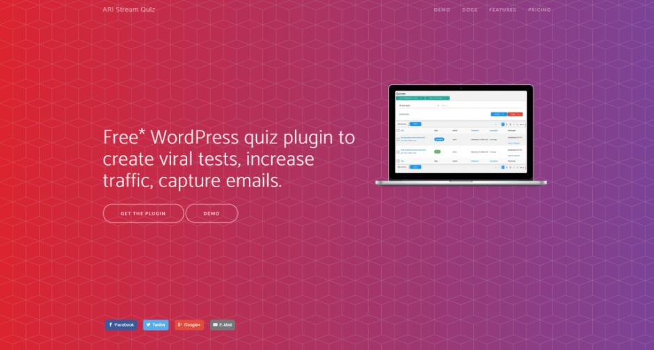 ARI Aliran quiz plugin untuk wordpress
