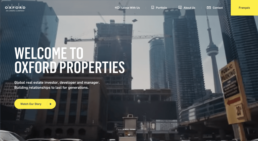 The 75 Best Commercial Real Estate Web Designs 2018