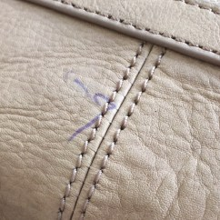 Ink Stain Leather Sofa Modern Design Bed How To Remove Pen Marks From A Bag  In My